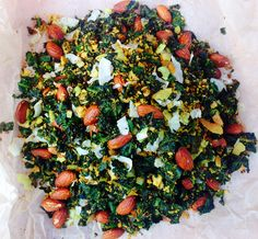 Curried Kale & Coconut Chips | grain free | gluten free | paleo | vegan
