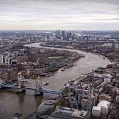 London and Thames view