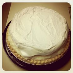 Banana Cream Pie from Yoder's Amish Restaurant in Hartville is the VERY best!