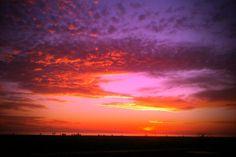 sunset in Santa Monica 2012
