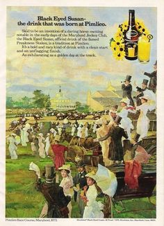 The history of the Preakness' black-eyed Susan cocktail