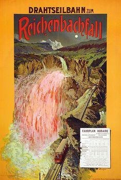 Reichenbachfall – Enrico Buffetti, ca. 1900