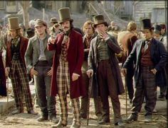 Gangs of New York - An epic, violent movie. Leonardo DiCaprio and Daniel Day-Lewis, how could you go wrong?