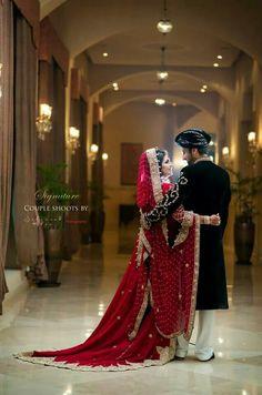Pakistani Bride and groom Wedding Couple Poses Photography, Indian Wedding Photography, Desi Wedding, Wedding Suits, Wedding Bride, Rustic Wedding Groom, Indian Bride And Groom, Bride Groom, Pakistani Wedding Dresses