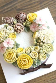 [강동,송파,광진,하남시,구리 앙금플라워] 꽃피는봄날, 클래스후기 : 네이버 블로그