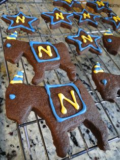 Fear the goat! Navy cookies