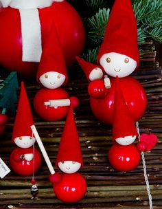 Lempitonttu decoration Norway Christmas, Christmas Elf, Christmas Crafts, Christmas Decorations, Christmas Ornaments, Holiday Decor, Christmas Inspiration, Dinner Table, Elves