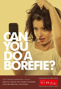 All you people out there, share with us your Borefie - That's a Bored Expression + Selfie & #Win exciting prizes.