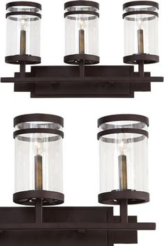 Bathroom Lighting Discount Prices kalco 504631, 504632, 504633, 504634 bainbridge bath lights rustic