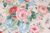 Kaufmann Austin Rose Printed Cotton Drapery Fabric in Multi $5.95 per yard