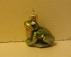 Blown Glass mini Green Frog Christmas Tree Ornament Decoration or Bauble by ukbeadsonline on Etsy Glass Christmas Ornaments, Christmas Tree Decorations, Green Frog, Beautiful Christmas Trees, Stained Glass Patterns, Etsy Uk, Vintage Christmas, Glass Art, Blown Glass