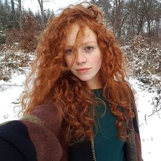 """392 Likes, 7 Comments - Redheads by Ary (@redheads_by_ary) on Instagram: """"@madeleinevilleminot"""""""