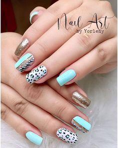 Leopard Nail Designs, Leopard Nails, Dulce Candy, Plain Nails, Color Street Nails, Free Motion Quilting, Stylish Nails, Mani Pedi, Nail Artist