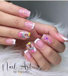 Nail Spa, Classy Gel Nails, Pretty Gel Nails, Polish Nails, Short Nail Manicure, Iron