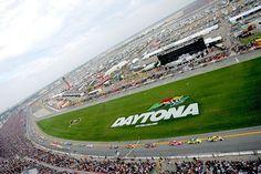 Daytona International Speedway and the NASCAR Daytona 500.