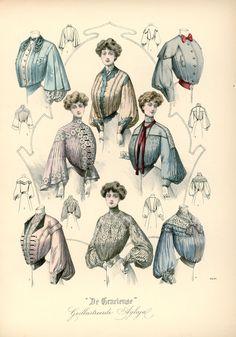 [De Gracieuse] Verschillende blouses (March 1904)