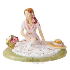 Summer Rose 2012 OCR Figurine of the Year Royal Doulton