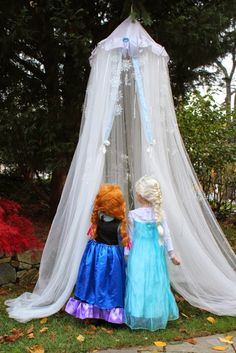 Rachael Rabbit: Tutorial: No Sew Hanging Tent for $20