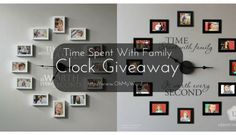 Time Spent With Family Clock Giveaway