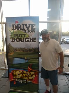 Congratulations to our $1,000 winner for sinking the putt!