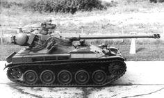 AMX-13/105 Modèle 58 - this version was armed in 105 mm gun M57