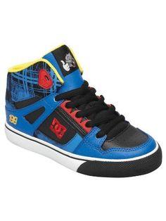 sale retailer 74130 49eaf DC Kids Spartan High TP Sneaker (Little Kid Big Kid) DC.  54.95