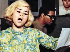The beautiful and talented miiissss Etta James! My inspiration ;)