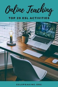 Find out the top 20 activites, resources and lesson plan ideas for teaching English online. Level up your ESL online teaching game! English Lesson Plans, Esl Lesson Plans, English Lessons, Learn English, Efl Teaching, Teaching Skills, Teaching Materials, Teaching Resources, Teaching Activities