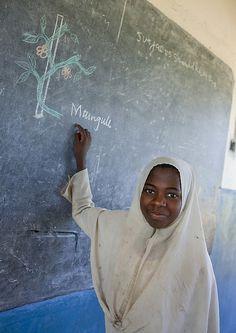 School in Pemba island - Tanzania by Eric Lafforgue, via Flickr