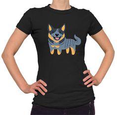 Australian Cattledog Ladies T-shirt
