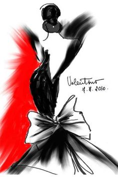 H: El modisto Valentino aloja en su castillo de las afueras de París, abierto al público, un espectacular legado de 10.000 bocetos, 2.000 cartas y valios