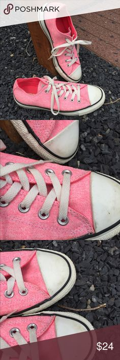 Converse All Star Sneakers Size 8 Size 8. Super gently preowned. Be sure to view the other items in our closet. We offer  women's, Mens and kids items in a variety of sizes. Bundle and save!! We love reasonable offers!! Thank you for viewing our item!! Converse Shoes Sneakers