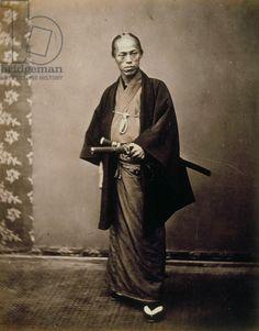 Japanese Officer. Felice Beato. Bakumatsu/ Meiji Period.