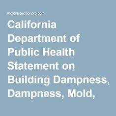 health department mold inspection