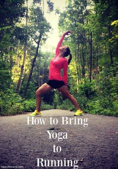 Bring the focus from your yoga mat over to your running to become a stronger, faster runner.