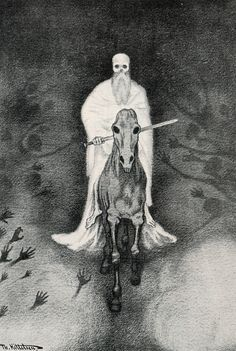 Theodor Kittelsen (1857-1914) on Pinterest | Norway, Php and Death