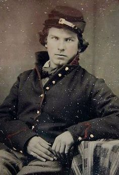 Union soldier from the War Between The States.