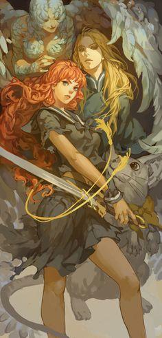 Me encanta este anime. Juuni Kokki by Akihiro Yamada Art And Illustration, Illustrations, Character Illustration, Art Manga, Manga Anime, Fantasy Kunst, Fantasy Art, Character Design References, Character Art