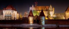 Marienburg Castle in Malbork, Poland