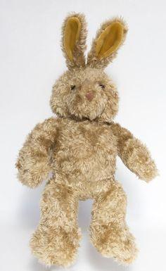 "BABW / Build a Bear Workshop 16"" CURLY BUNNY RABBIT Plush Toy #BuildaBearWorkshop"