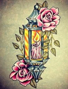 ... Lantern Tattoo on Pinterest | Lamp tattoo Candle tattoo and Tattoo