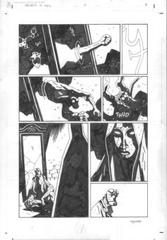Hellboy in Hell: issue #04, page 03 Comic Art