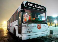 Bus der Heilsarmee in Norwegen