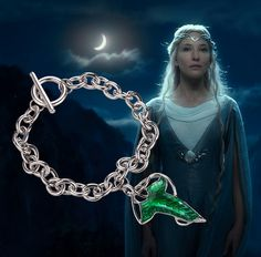 Lord of the Rings Elven Charm Bracelet