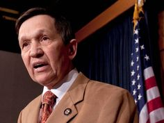"""""""What's interesting about all this is, if you listen to Saif Gaddafi's account, even as they were being bombed they still trusted America, which really says a lot,"""" said former Rep. Dennis J. Kucinich."""