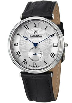 Price:$225.00 #watches Grovana 1276.5538, Grovana is a firm that has made a name for itself in the Swiss watch making industry through innovation and flexibility. Up to the 1970s it made mechanical watches that were always state of the art.