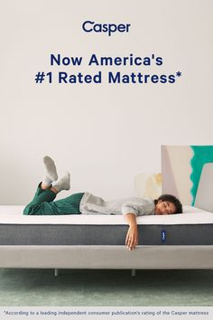 Have you tried the most comfortable mattress in the world? Try the Casper mattress for 100 nights with free shipping and free returns. Starting at $595.