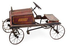 Antique Fire Truck Pedal Car   on OneKingsLane.com