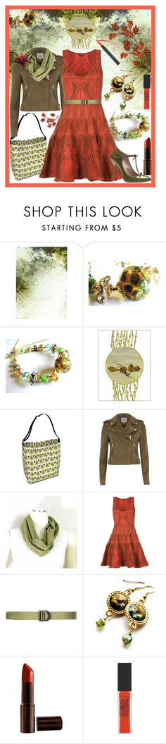 """Fall Rendezvous"" by belladonnasjoy ❤ liked on Polyvore featuring River Island, Sophie Theallet, 5.11 Tactical, Olivine, Fashion Fair, Maybelline and Gucci"