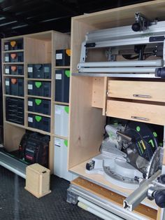 Another ProMaster Van Racking